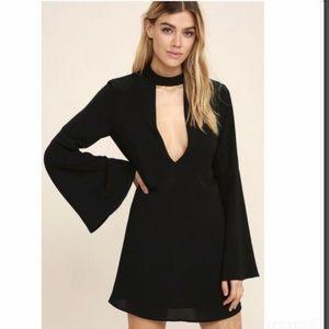 Lulus deeply in love shift dress. NWT